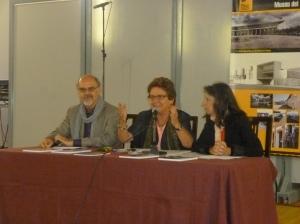 Joan Ferre, Conxita Tarruell  i Teresa Costa- Gramunt 31-6-13