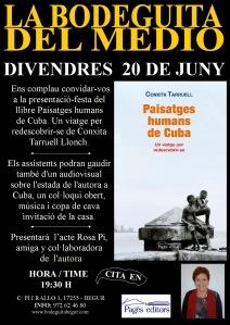 PRESENTACiÓ LLIBRE CUBA  BEGUR 20-6-14DD