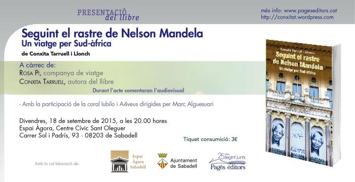 Seguint el rastre de Nelson Mandela (Agora)