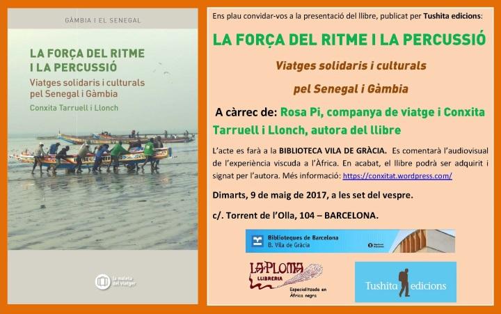 Invitació CONXITA TARRUELL-Vila de Gràcia